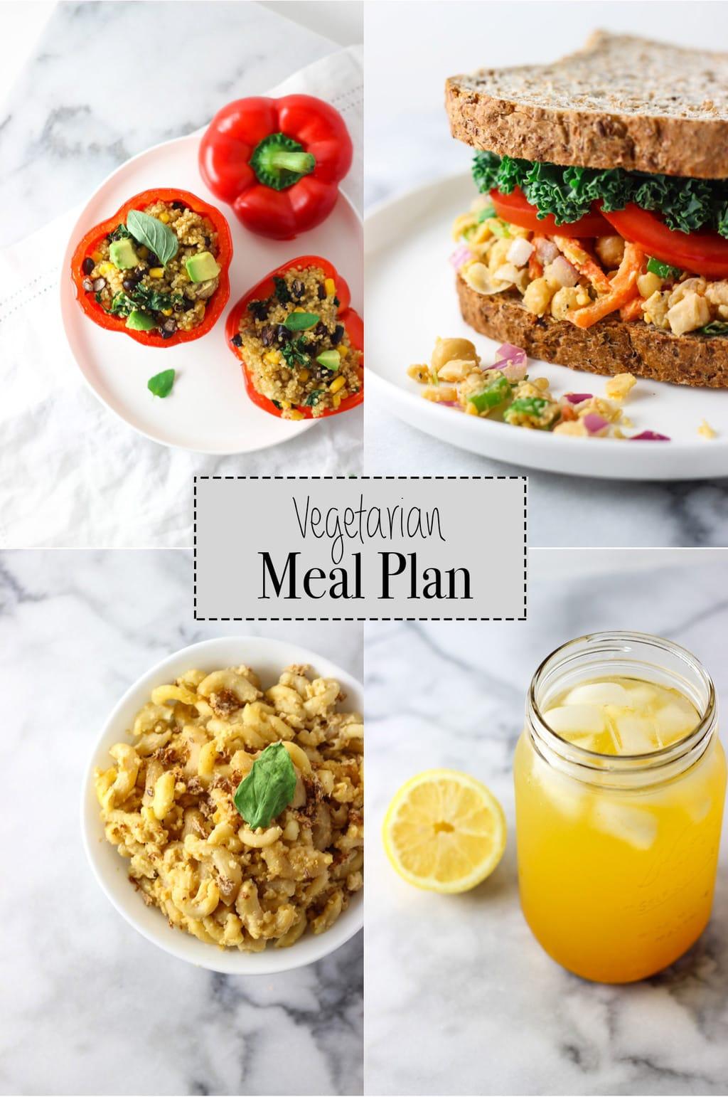 Vegetarian Meal Plan June 2016 Exploring Healthy Foods